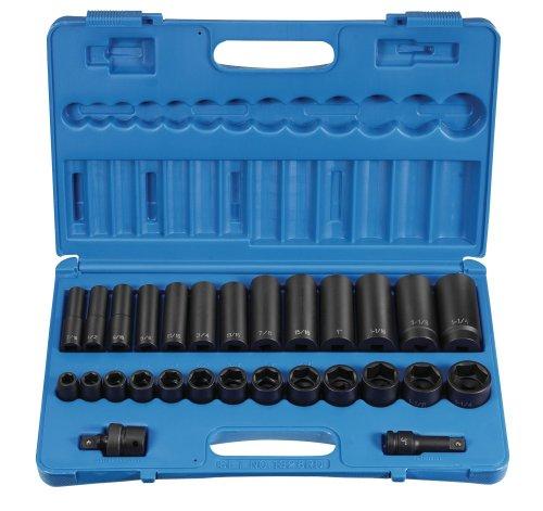 Grey Pneumatic 1328RD 12 Drive 28-Piece StandardDeep Socket Set