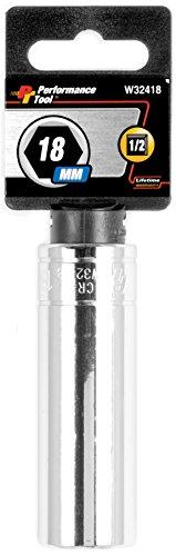 Performance Tool W32418 Drive 6-Point 12 Dr 18mm 6pt DW Socket