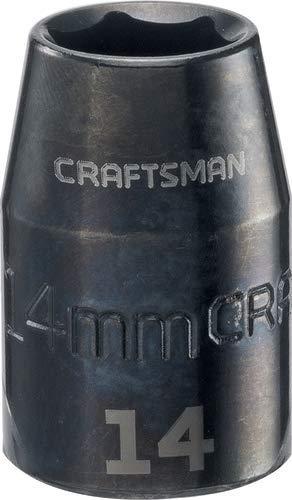 CRAFTSMAN Shallow Impact Socket Metric 12-Inch Drive 14mm CMMT15862