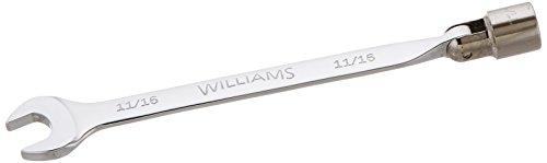 Williams 11905 Flex Combination Wrench 1116-Inch