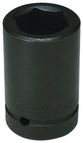 Wright Tool 89-33MM 33MM 1-Inch Drive 6 Point Deep Metric Impact Socket
