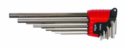 Wiha 35297 9-Piece Metric L-Key Wrench Set
