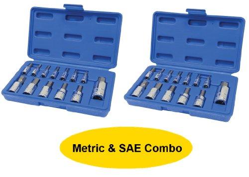 Capri Tools MS13 Hex Wrench Bit Socket Bundle Sets