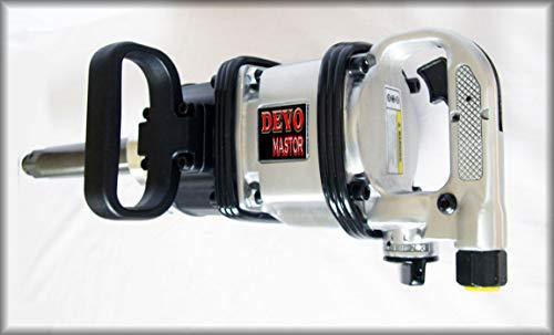 Devomastor DM-9535TX Professional Pneumatic Air Power 1 Impact Wrench Tool Gun w 8 Anvil 2500 ft-lb Torque
