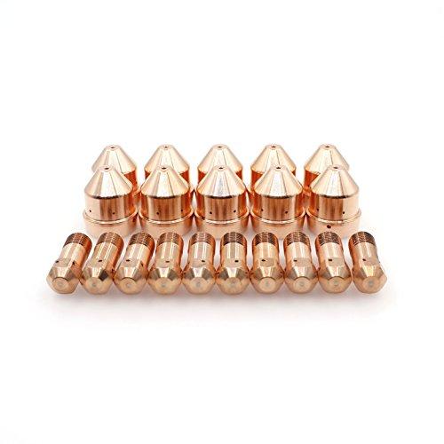 Plasma Electrode Nozzle Tips 14mm for ESAB PT-32 Cutting Torch PKG20