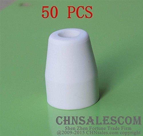 CHNsalescom 50 pcs AG-40 PT-31 Shield Cup AIR Plasma Cutter Cutting Consumables CUT-40 50