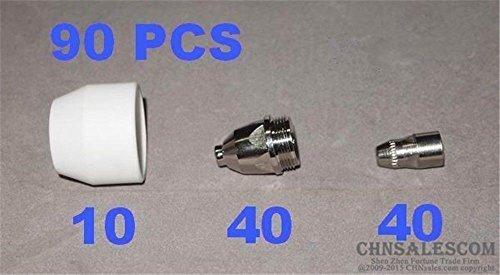 CHNsalescom 90 PCS P-80 High Frequency AIR Plasma Cutter Pilot Arc Torch Consumables