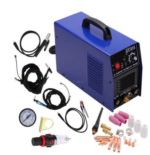 iMeshbean 3 in 1 CT312 Multi Functional TIG  MMA  Air Plasma Cutter Welder Welding Machine With Pressure Gauge USA