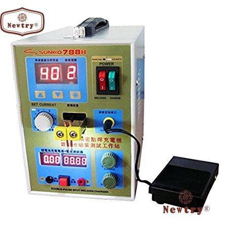 788H Battery Spot Welder Welding Machine Battery Charger 110V