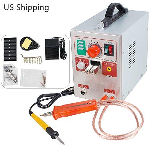 Ovovo 709A 2 in 1 Pulse Battery Spot Welder Welding Soldering Machine 19kw 60A