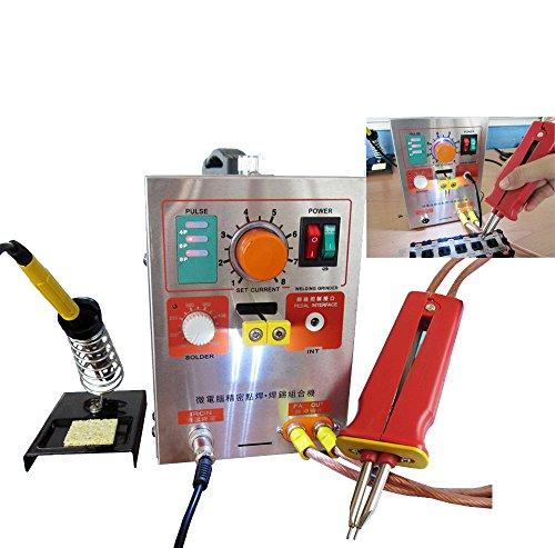 Pevor 2 in 1 Pulse Spot Welder 709A Battery Spot Welding Soldering Machine 19kw 60A US STOCK