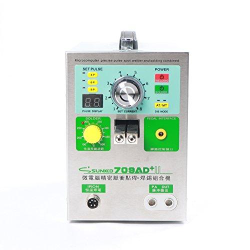 SUNKKO 709AD Pulse Spot Welder for Battery Pack with Intelligent Welding Function