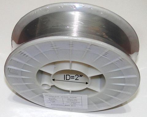 WeldingCity ER316L Stainless Steel MIG Welding Wire 11-Lb Spool 0030 08mm