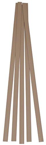 High Density Polyethylene HDPE Plastic Welding Rod 38 x 116 5 ft Tan