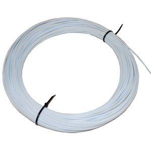 White 18 PVC Type-II Plastic Welding Rod - 1lb Coil