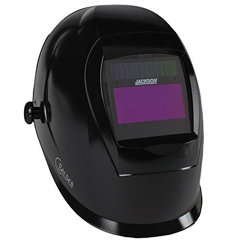 Jackson Safety SmarTIGer Variable Auto Darkening ADF Welding Helmet with Balder Technology 37188 W40 Black