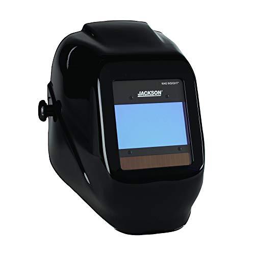 Jackson Safety 46131 Insight Variable Auto Darkening Welding Helmet HaloX Black