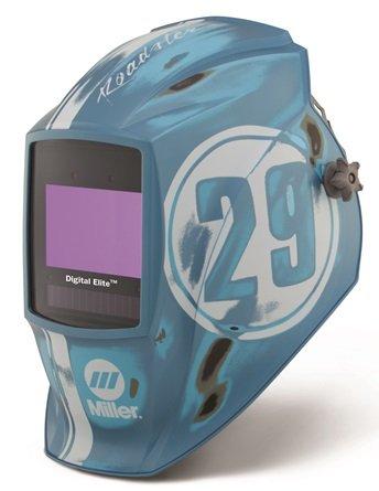 Miller Digital Elite Vintage Roadster Auto Darkening Welding Helmet w ClearLight Lens Technology