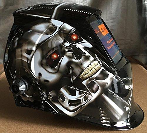 USA seller  Auto Darkening Solar Powered Welders Welding Helmet Mask With Grinding Function
