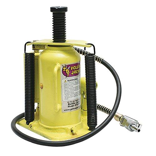 ESCO 10446 Yellow Jacket Air Hydraulic Bottle Jack 20 Ton Capacity 1875 Height