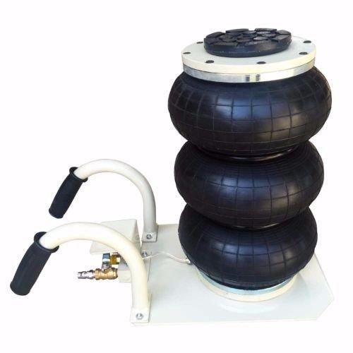 Floor Jack Trolley Automotive Car Triple Bag Air Jack 3 Ton Capacity Lift Frame Machine - House Deals