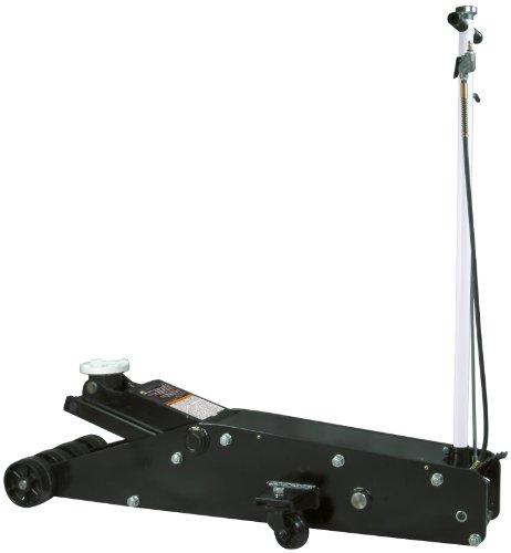 Omega 22203 Black Hydraulic Service Jack - 20 Ton Capacity