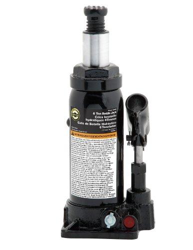 Omega 10065B Black Hydraulic Bottle Jack - 6 Ton Capacity