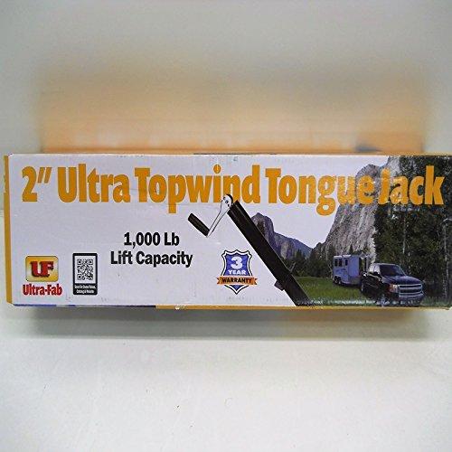 Snowmobile Utility Camper Trailer Tongue Jack  Top Crank  2 1000 LB Capacity