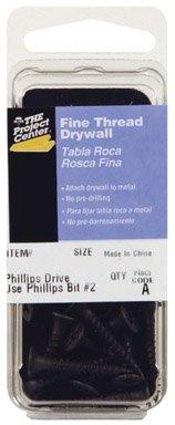 Hillman Drywall Screws No 6 X 1-58  Black Phosphate Coated Phillips Fine Steel