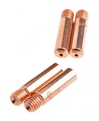 Forney 60173 Contact Tip For Mig Welding Tweco Binzel or Clarke 045 4-Pack