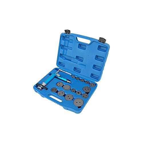 Pneumatic Disc Brake Caliper Piston Compressor Windback Wind Back Pad Tool 16pc Wcase