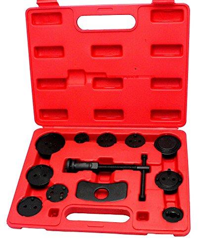 VOKUA 12 Piece Disk Brake Pad ReplacementMaster Brake Caliper Tool Set Disc Brake Caliper Wind Back Tool Kit Professional Brake Tool Set