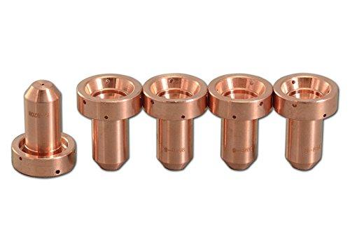 9-8208 Plasma Tip 40Amp Cutting OTD Fit Thermal Dynamics SL60SL100 Plasma Cutter Torch 5pk
