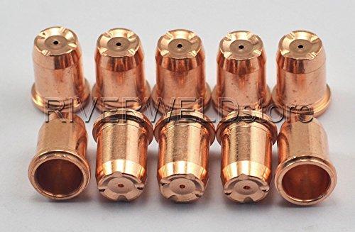 PD0114-14 Plasma Tips Φ 14 Fit Ergocut S74 S75 Plasma Cutter Torch 10PK