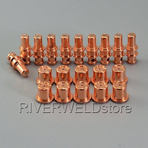 PR0109 Plasma Electrode PD0105 Plasma Tips Fit A81 A80 P80 Plasma Torch20PK