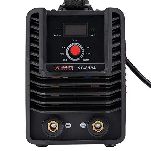 Amico SF-200A 200 Amp Stick ARC DC Inverter Welder IGBT Digital Display LCD 110V 230V Dual Voltage Welding Machine