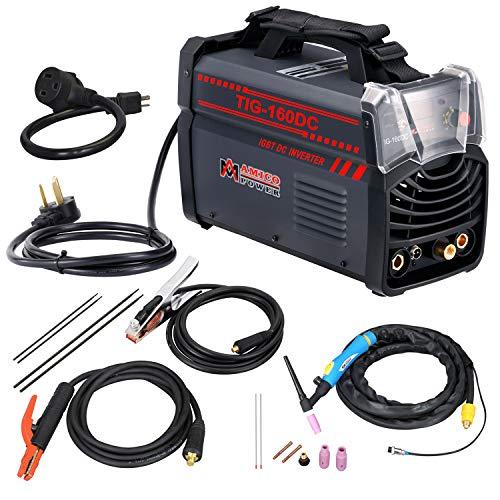 Amico TIG-160DC 160 Amp TIG-Torch ARC Stick DC Welder 110230V Dual Voltage Welding Machine New