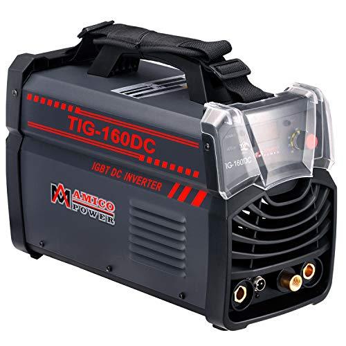 Amico TIG-160DC 160 Amp TIG Torch Stick Arc DC Welder 120240V Dual Voltage Welding Machine
