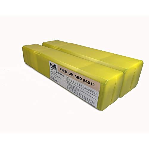 E6011 Premium Arc Stick Electrodes Welding Rods 332 18 532 10 lb 2-pk 2-pk 18