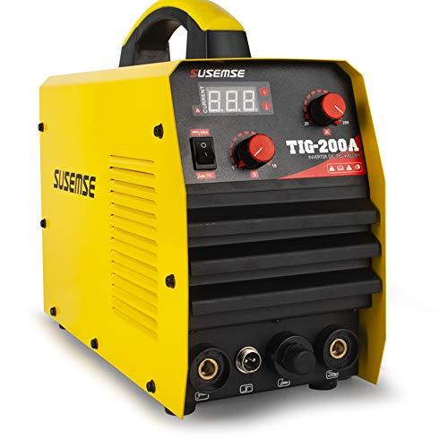 TOSENBA TIG Welder TigArcStick Tig Welding Machine 200Amp 220V DC Inverter IGBT MMA Digital Display
