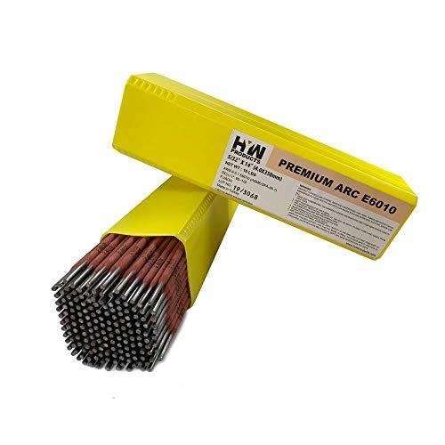 E6010 Premium Arc Welding Rods Carbon Steel Electrode 10 lb Box 532