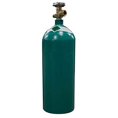 40 cuft 75 Argon 25 CO2 Welding Gas Cylinder Tank CGA 580 - FULL