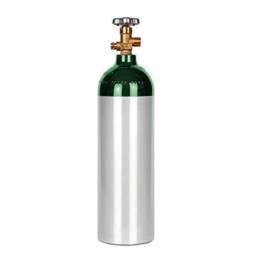 New 22 cu ft Aluminum Oxygen Cylinder with CGA540 Valve