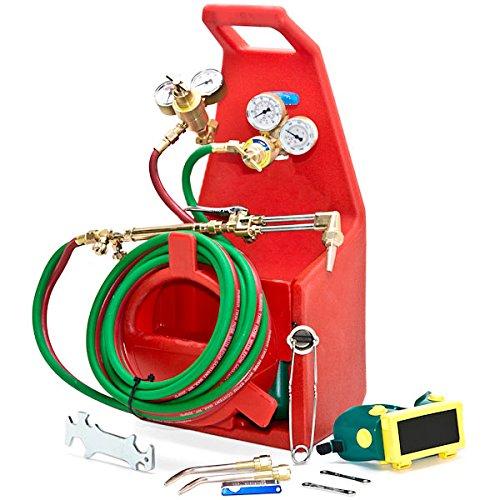 Biltek Professional Portable Torch Kit Oxygen Acetylene Oxy Welding Cutting Victor-Style Tank  KapscoMoto Keychain