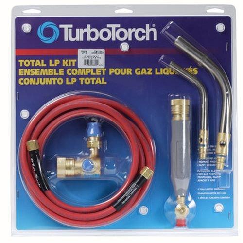 TurboTorch 0386-0007 LP-2 Torch Kit Swirl MAP-ProLP Gas