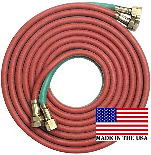 25 x 14 GoodyearContinental Twin Torch Hose Oxygen Propane Welding Grade T