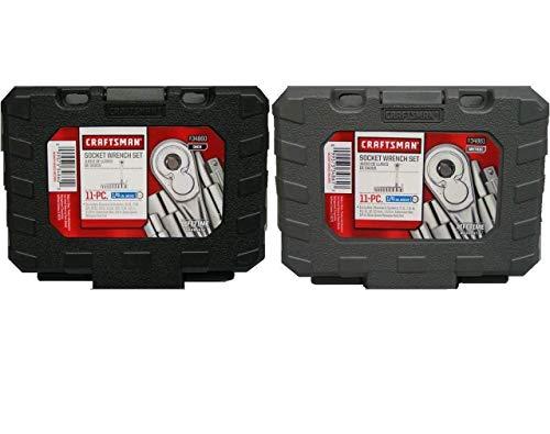 Craftsman 14 inch Drive Ratchet Socket Sets 22pc Standard and Metric