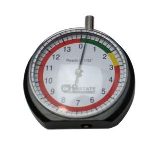 Interstate Pneumatics TG32 Professional Dial Type Tire Tread Depth Gauge