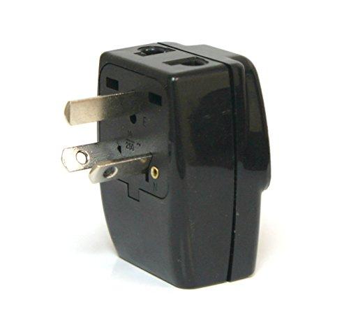 Tmvel TRIADAPT Type I 3-Outlet Travel Adapter Plug for Australia New Zealand