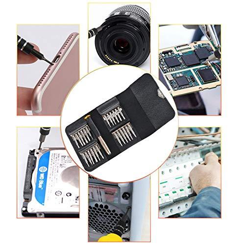 Sucastle Screwdriver Set 25 in 1 Torx Multifunctional Opening Repair Tool Set Precision Screwdriver For Phones Tablet PC HEX TROX DIY KIT